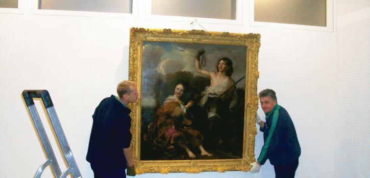 Verhuizing schilderij