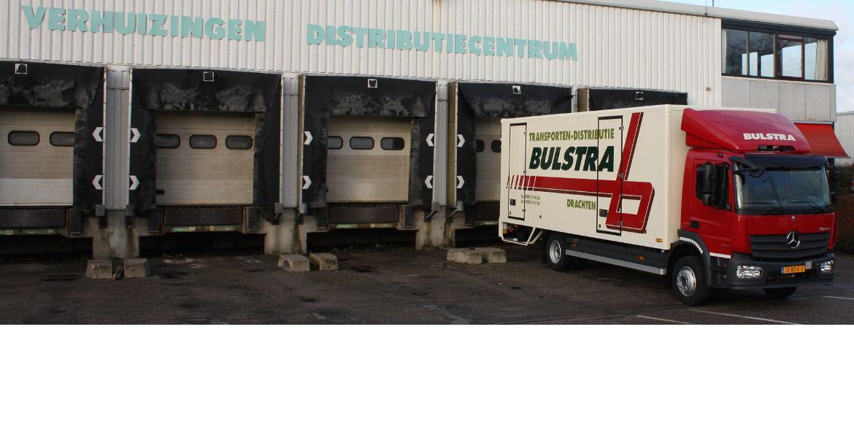 Bulstra transport verhuizingen distributiecentrum