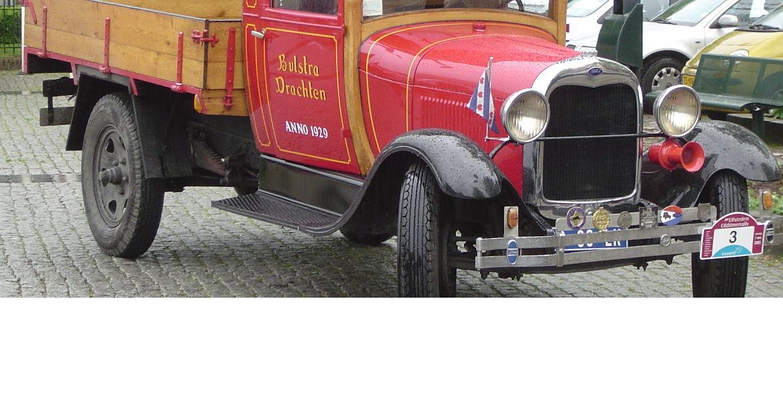 Bulstra transport verhuizingen oldtimer ford