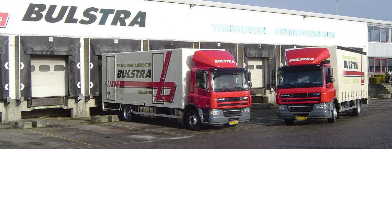 Bulstra transport verhuizingen weer twee vrachtwagens